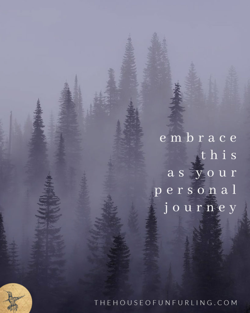 "TIP #03: EMBRACE THIS AS YOUR PERSONAL JOURNEY - Click to read the Full Article: ""What to do when you're feeling lonely on this path of spiritual awakening"" - kathleensaelens.com"