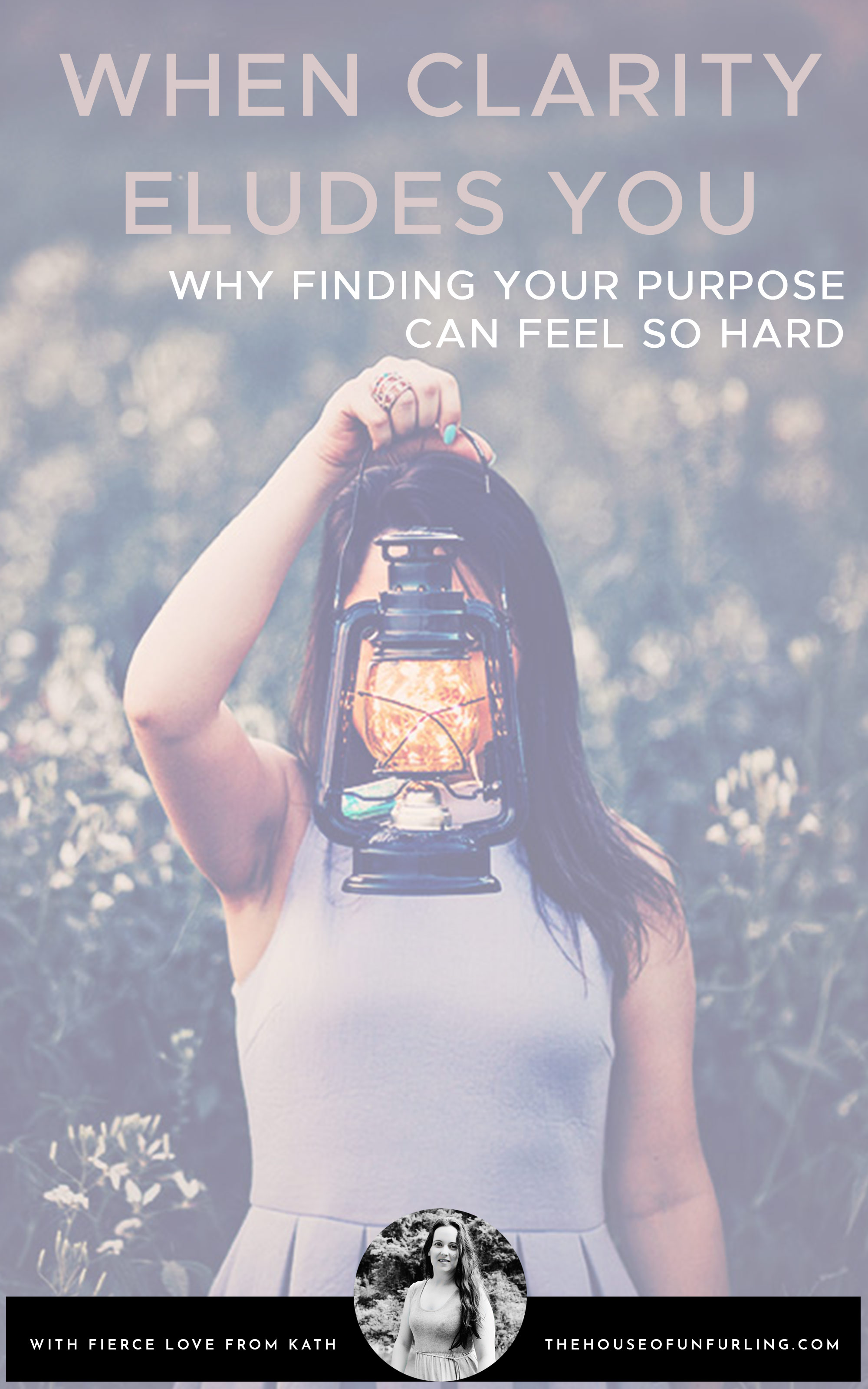 """CLICK THROUGH TO READ: Why it can feel so hard to find your purpose"""" - From Purpose & Feminine Impact - kathleensaelens.com"""