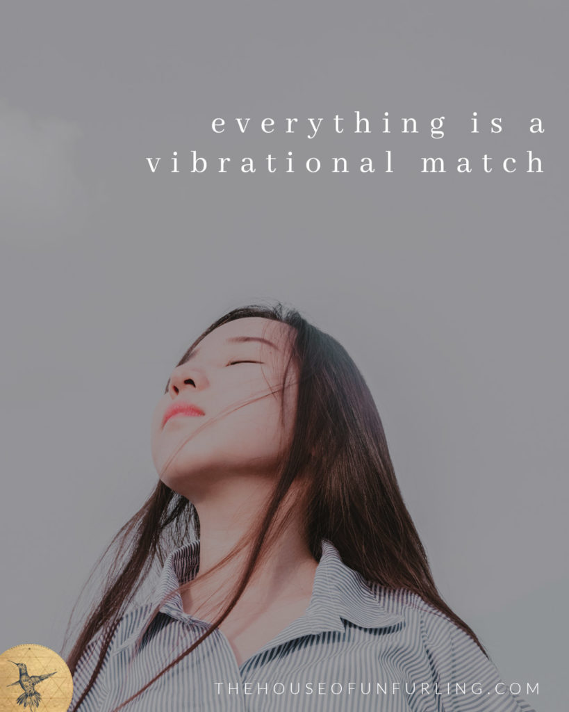everything is a vibrational match