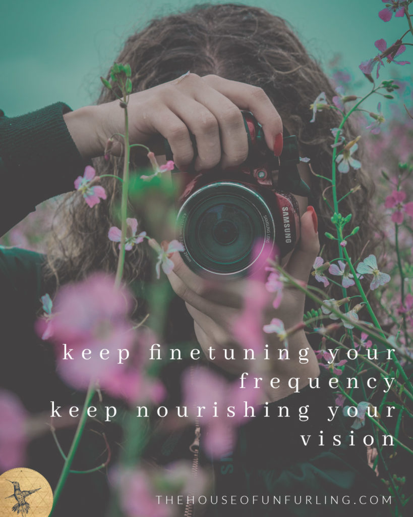 keep finetuning your frequency