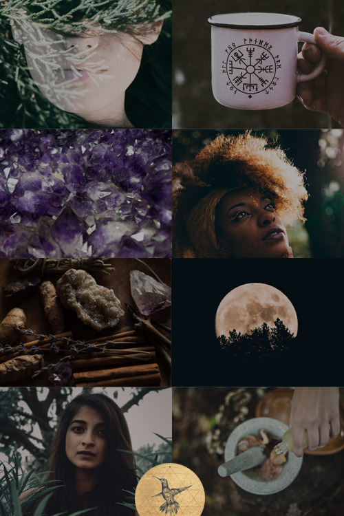 Activate your Mystic Healer energy with this aesthetic! Discover Your Feminine Impact Archetype here: www.kathleensaelens.com/quiz